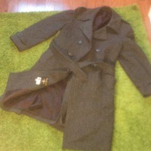 🍁🧥 Men's wool trench coat. 🧥🍁